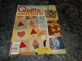 Quilts and More Magazine Winter 2011 Pocket Posy - $2.69
