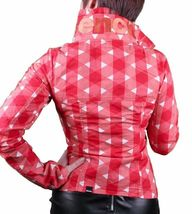 Bench UK Urbanwear Womens BBQ Barbecue Star Red Jacket w Hood BLKA1552 NWT image 3