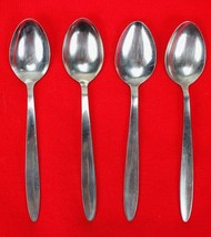 "4X Teaspoons Spoons Englishtown ENS2 Stainless Glossy Flatware 6 1/4"" Te... - $33.66"