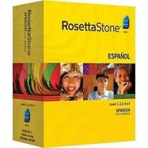 Rosetta Stone Version 3 ~ Spanish ~ Latin America ~ Level 1-5  Language ... - $79.20