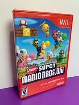New Super Mario Bros. Wii (Nintendo Wii, 2009) Complete - $14.01