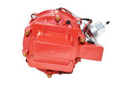 Chevy Late Inline 6 Cylinder HEI  Distributor 230 250 292 Red 65K Coil image 4