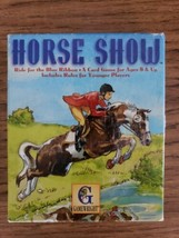 Horse Show Card Game Gamewright 1997 Ride for The Blue Ribbon Ages 8+ co... - $7.99