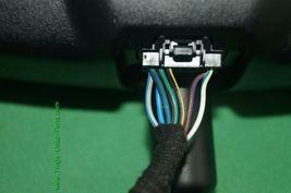 10-12 Ford Fusion Rear View Mirror w/ Camera Display & Compass 8U5A-17E678-DE image 7
