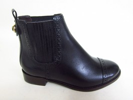Tory Burch Georgia Black Flat Bootie Boots Size 6 - $371.25