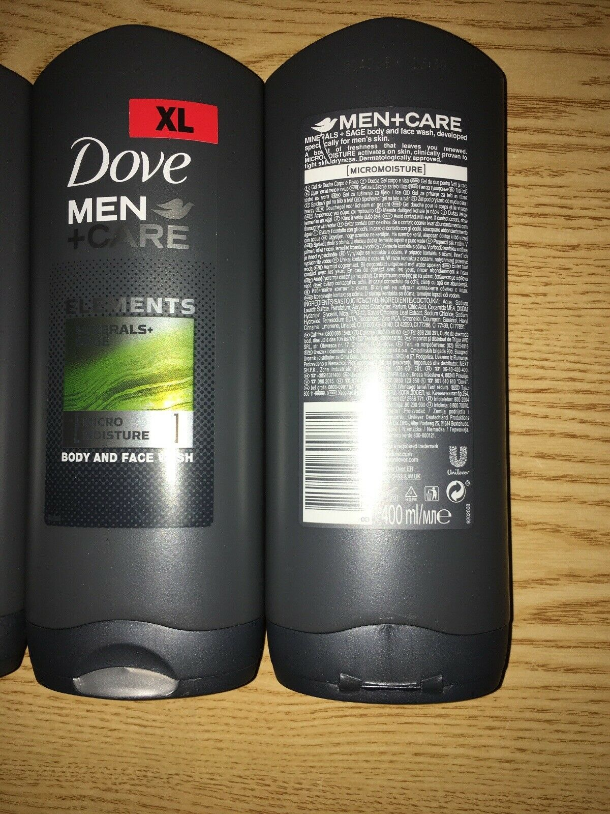 New Lot Of 3 Dove Men Care Body Face And 33 Similar Items