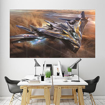 Wall Poster Art Giant Picture Print The Milano Spaceship Guardians 1856PB - $27.99