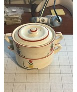 Rare Vintage Jubilee Sugar And Creamer Stackable Set From Japan - $30.00