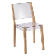 Fine Mod Imports Lhosta Dining Side Chair, Natural - $180.00