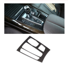 Interior Mouldings Gear Shift Panel Cover Trim for BMW X5 X6 F15 F16 2015-2018 - $53.28
