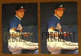Greg Maddux - Braves HOF 1996 Fleer Ultra #8 of 10 (2X) - Fast Shipping - $1.97