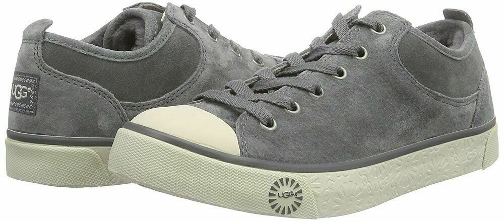 UGG Australia Sport Collection Women's Evera Oxford Sneakers in Pewter, Size 5