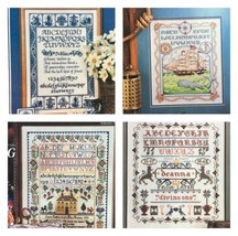 Cross Stitch Magazines Lot of 7 Sampler Needlework Charts Mother Ship - $18.49