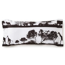 Colcha Linens CP-AF-LR-ST African Safari Long Rectangle Pillow - White S... - $47.99