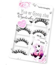 Only You New 5 Pair Thick Crisscross Long False Eyelashes Fake Eye Lashes - $11.06