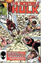 The Incredible Hulk Comic Book #316 Marvel 1986 FINE+ - $1.99
