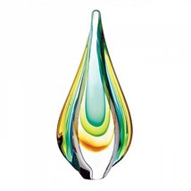 Smart Living Art Glass Teardrop Sculpture - $42.92