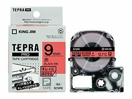*Label 9mm red SC9RE that peel off to Jim King tape cartridge Tepura PRO... - $9.47