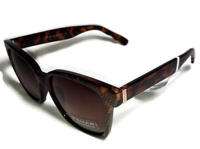 TAHARI Brown Bronze Snake Python Print Sunglasses TH605 - $39.99