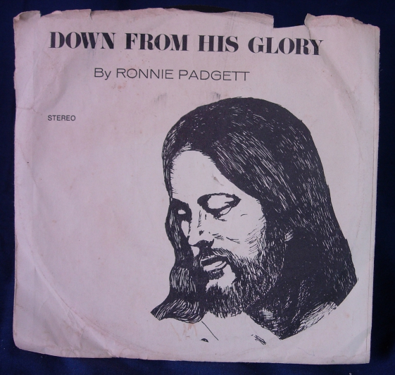 Ronnie Padgett - Down From His Glory / Let It Fall On Me - Mark Five RP-4731