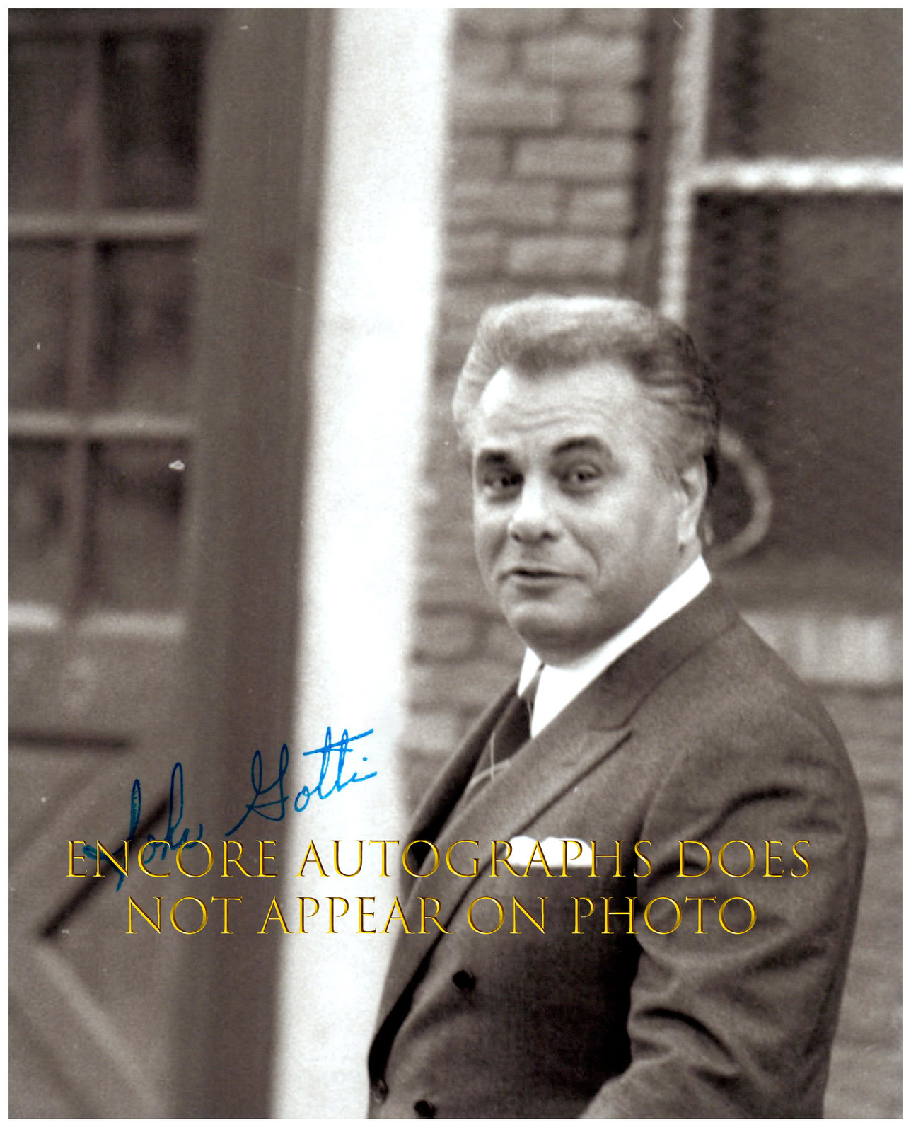 Primary image for JOHN GOTTI  Authentic Original  SIGNED AUTOGRAPHED PHOTO w/ COA 5290