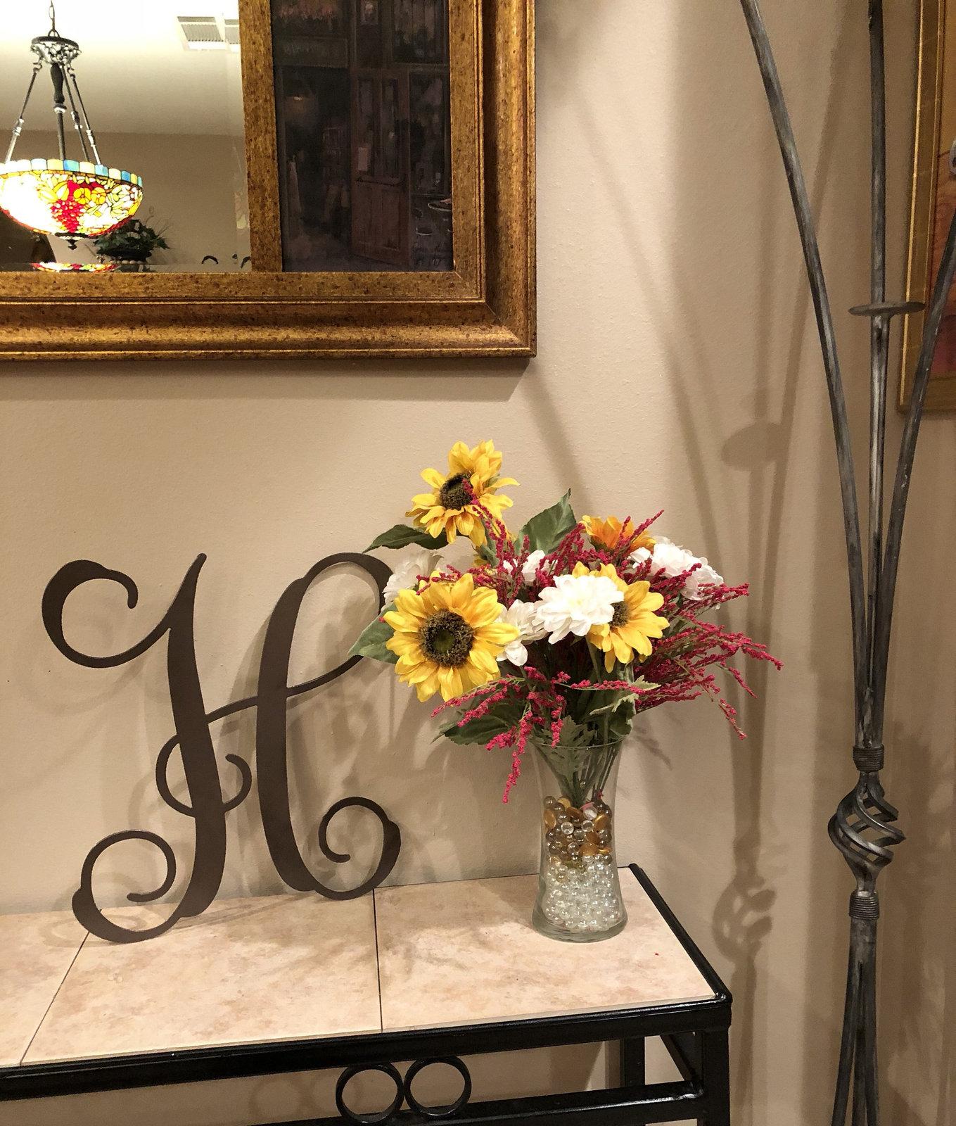 Monogram Letters, Monogram Sign, Metal Monogram Home Decor ...