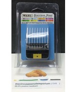 """Wahl Professional Animal Stainless Steel Attachment Guide Comb #0 5/8"""" #... - $14.19"""