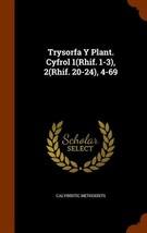 Trysorfa y Plant. Cyfrol 1(rhif. 1-3), 2(rhif. 20-24), 4-69 - $56.71