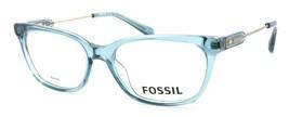 Fossil FOS 6077 RWO Women's Eyeglasses Frames 50-16-135 Turquoise + CASE - $79.00