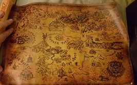 Loot Crate Legend of Zelda Hyrule and Termina Map Link Poster Print Nint... - $15.79