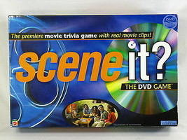 Scene It? Movie Edition 2003 DVD Trivia Board Game Mattel Complete Excel... - $11.76