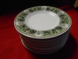 "Great Dinnerware-MAJESTICWARE By Oneida ""Incas"" Pattern..10 BREAD-DESSERT Plates - $20.50"