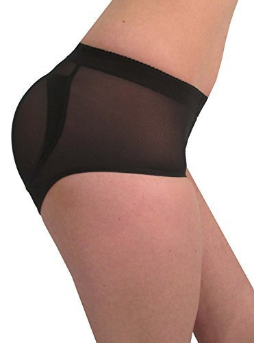 Fullness Silicone Buttocks (S, Black)