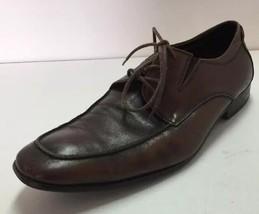 Kenneth Cole New York Clothes Case LE Brown Oxford Dress Shoe Men's 10.5M - $29.65