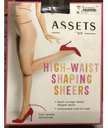 Spanx Assets High Waist Shaping Sheers Size 1 Black 269B Pantyhose Shaper - $11.40
