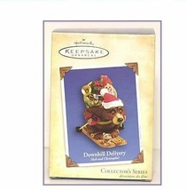 Hallmark Ornament Nick and Christopher Downhill Delivery 1st in Series 2004 - $9.99