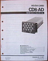 Yamaha CD8-AD Analog Eingang Ad / da Karte- Original Servicehandbuch Bro... - $39.59