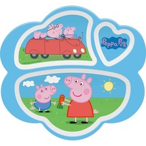 Peppa Pig Divided Plate - $7.00