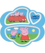 Peppa Pig Divided Plate - £9.41 GBP