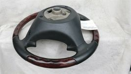 03-06 Porsche Cayenne 955 Wood/ Blk Leather 3 Spoke Steering Wheel 7L5419091 image 11