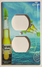 Corona Extra Bottle Beer Logo Light Switch Power Outlet Wall Cover Plate Decor image 5