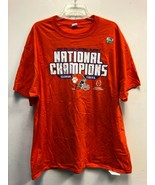 CLEMSON TIGERS NATIONAL CHAMPIONS 2018 SHIRT, SZ XL - $23.74