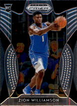 Zion Williamson 2019-20 Panini Prizm Draft Picks Rookie Card #64 - $6.00