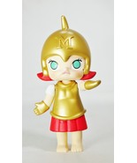 POP MART Kennyswork BLOCK Little Molly Chess Club Chessmate PAWN Gold & Red - $29.99