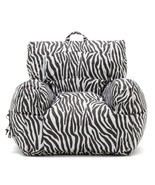 Big Joe Dorm Chair Zebra Bean Bag Lounge NEW - £43.38 GBP