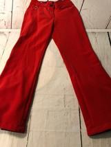 Metropolis Women's Pants Tech Stretch Red Snow Ski Wear Fully Lined Size... - $23.75