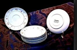 Abingdon Fine Porcelain China Tea Saucers Japan AA18 – 1152-B Vintage image 2