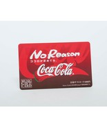 Coca Cola Bottlers Japan Expired Music Gift Card No Reason Prize Winning... - $36.63