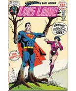 Superman's Girlfriend Lois Lane Comic Book #112, DC Comics 1971 VERY FINE+ - $31.85