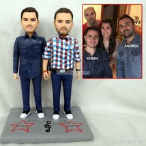 dog animal model figurine cristal figurine wedding cake toppers decorati... - $148.00